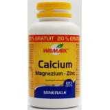 WALMARK CALCIUM - MAGNEZIUM – ZINC (100 tablete + 20 tablete gratuit)