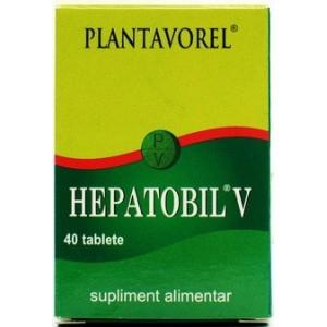 Plantavorel Hepatobil V (40 Tablete)