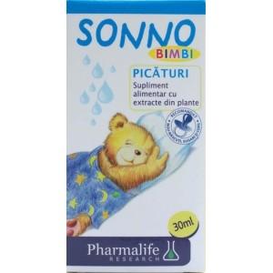 Pharmalife Sonno Bimbi Picaturi (30 Ml)