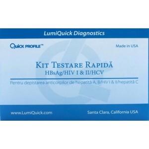 Kit Testare Rapida Hbsag/hiv I&ii/hcv
